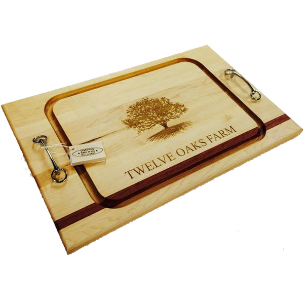 Monogrammed Serve Board (Medium)