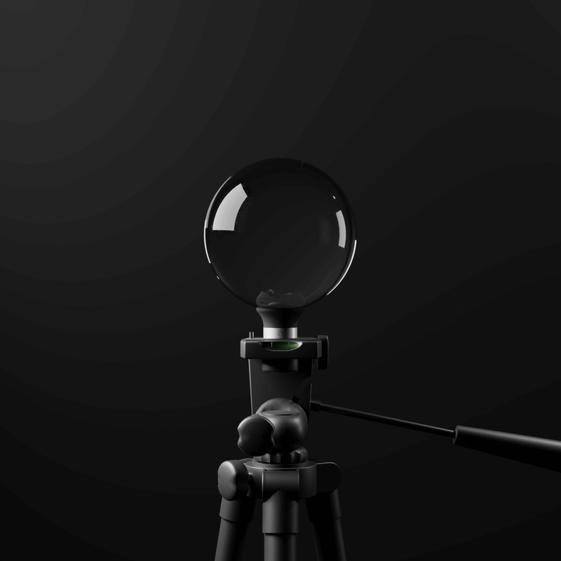 Lensball Stand
