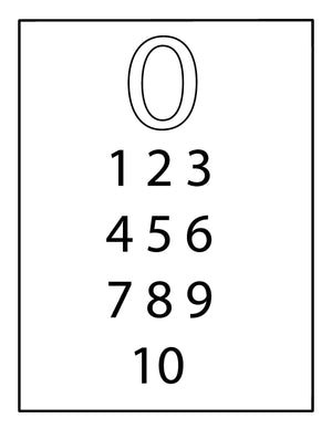 Learn The Numbers Level 1