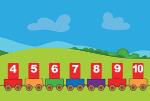 Learn The Numbers Armenian Reading book Level 1 - Armenian Kids Club