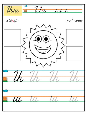 Armenian Alphabet Workbook Level 1 - Armenian Kids Club