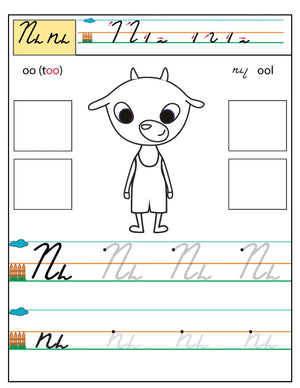 Armenian Alphabet Workbook Level 1