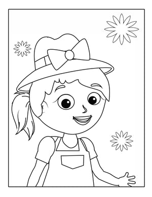 Badik Coloring Book - Armenian Kids Club