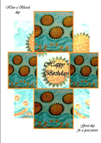 Sunflower birthday 001