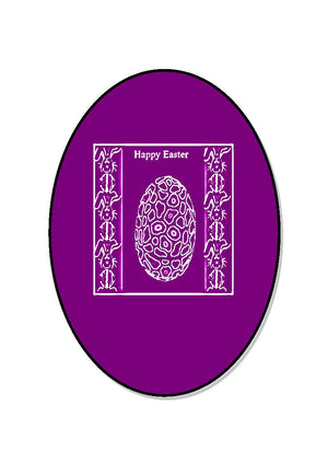 Easter Egg Oval