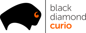 Black Diamond Curio Logo