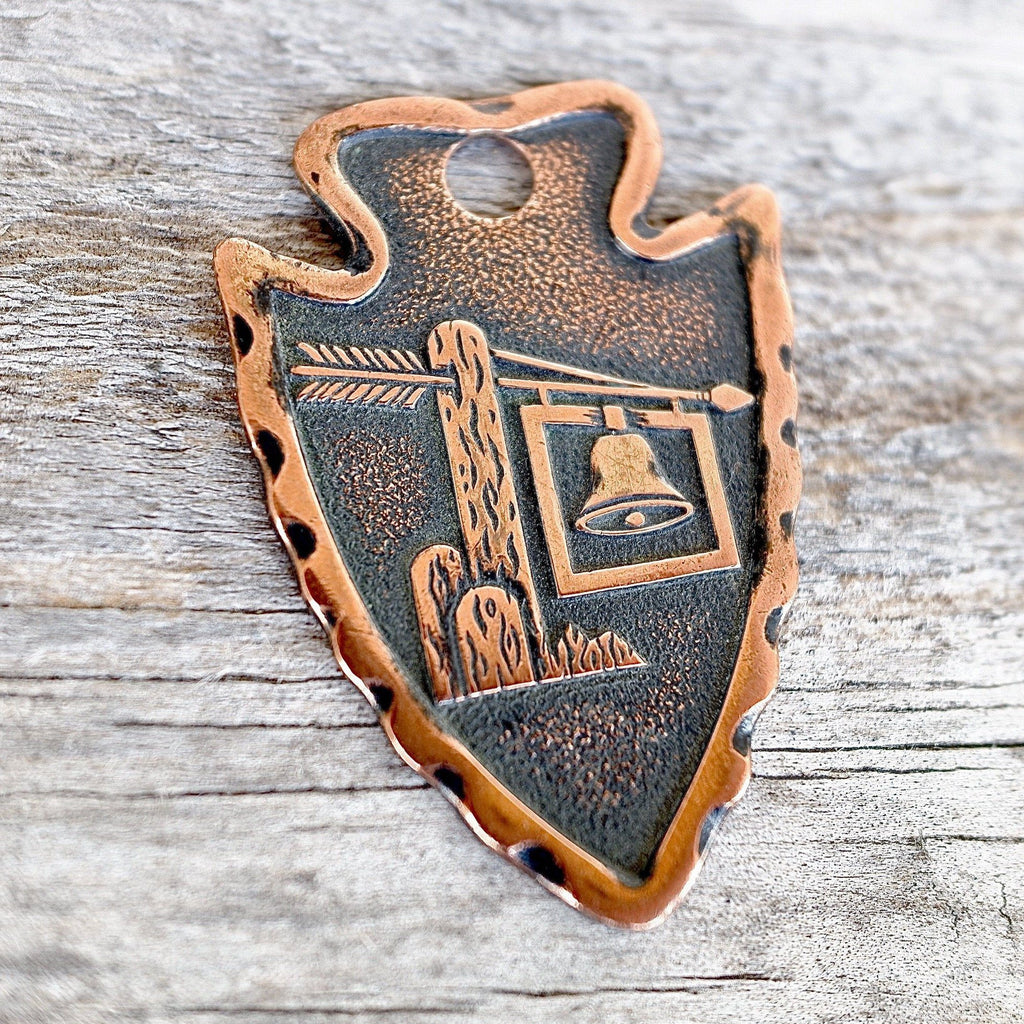 Arrowhead Key Fob Southwest Bell Trading Post Souvenir