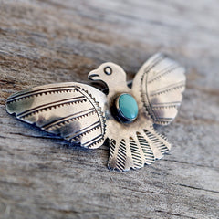 Native American Thunderbird Pin UITA Toadlana Trading Post