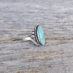 Southwest Turquoise Ring Size 6.75 Bell Trading Post