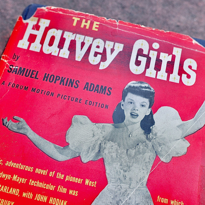 1945 Harvey Girls Book 2nd Printing MGM Film Judy Garland