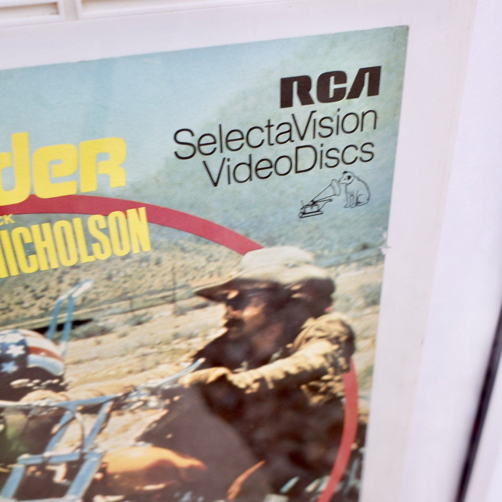 Easy Rider Framed RCA SelectaVision Video Disc 1981