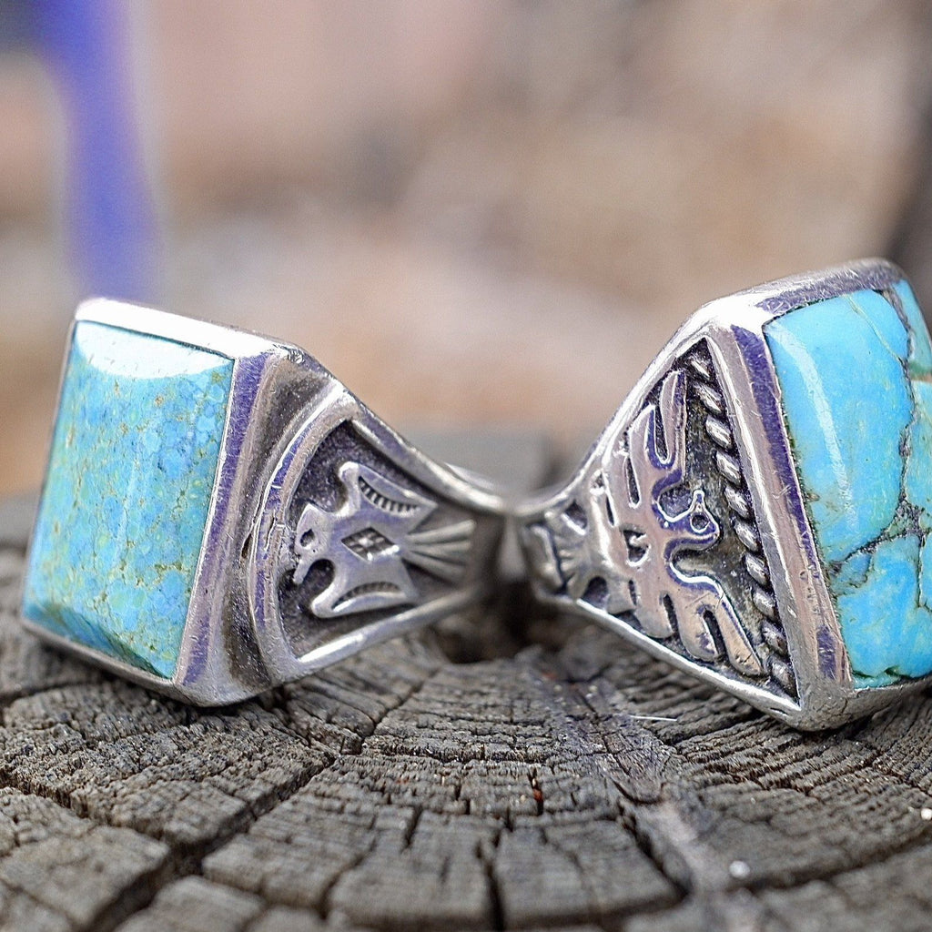 Native American Mens Turquoise Ring