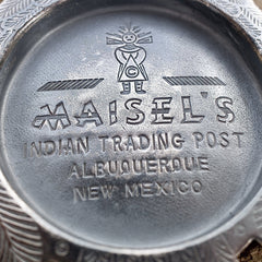 Vintage Maisel's Indian Trading Post Sterling Silver Thunderbird Pendant