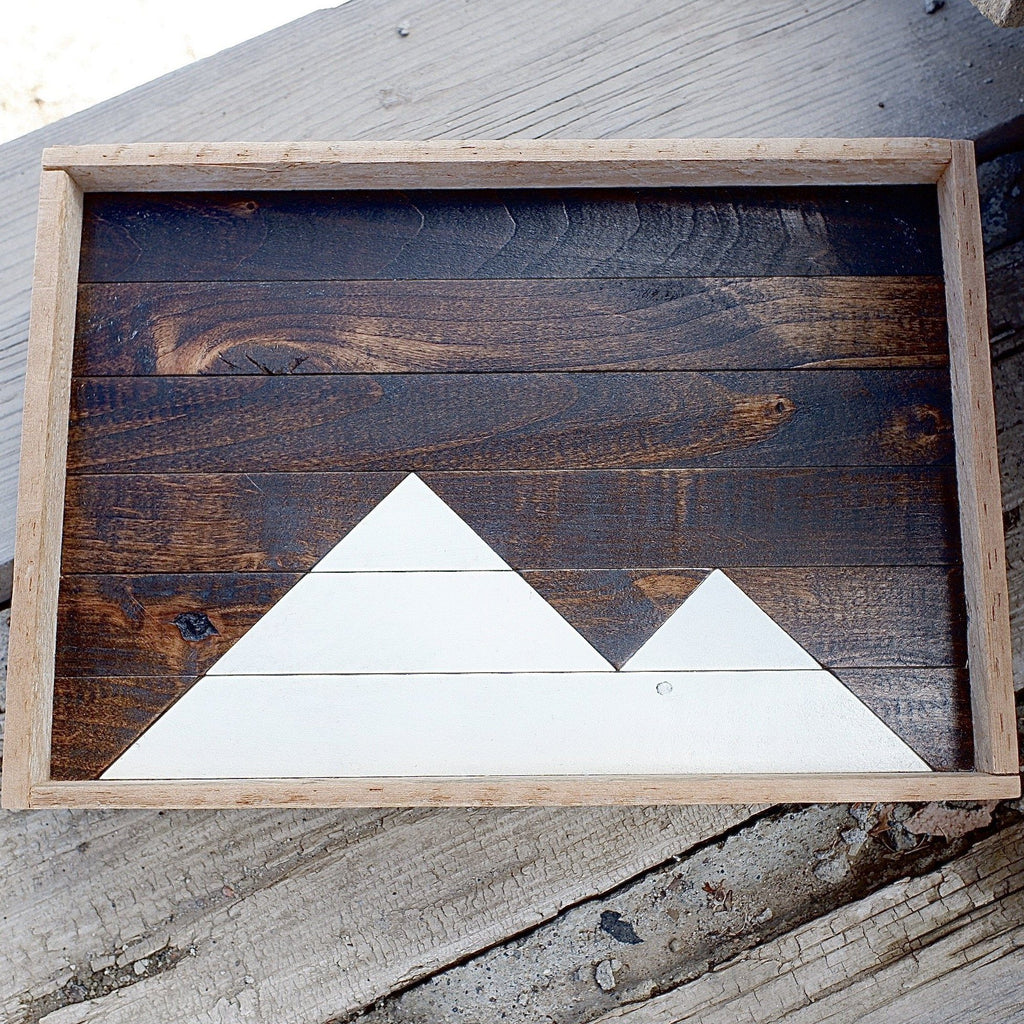 White Mountains Reclaimed Wood Serving Tray