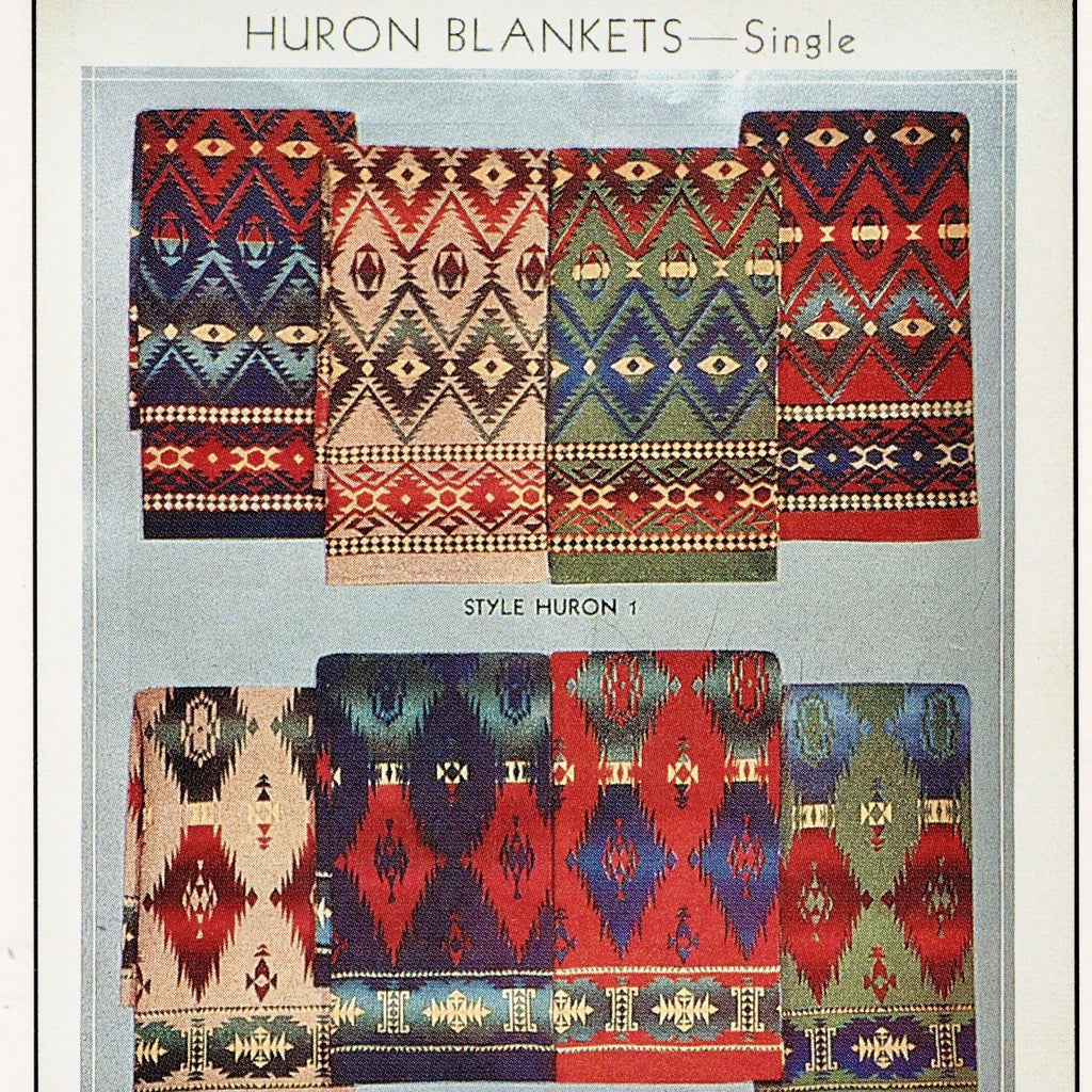 Beacon Blanket Catalogue Huron Design