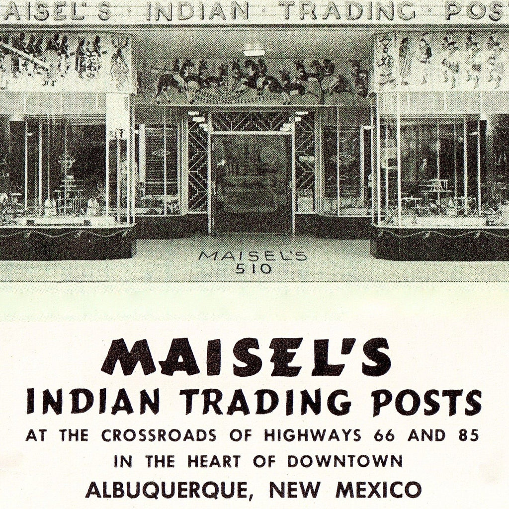 Maisel's Indian Trading Post Newspaper Ad