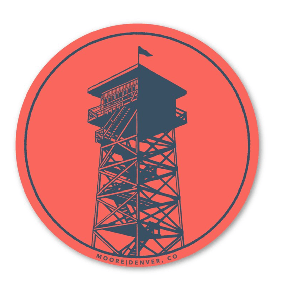 Lookout Tower Sticker