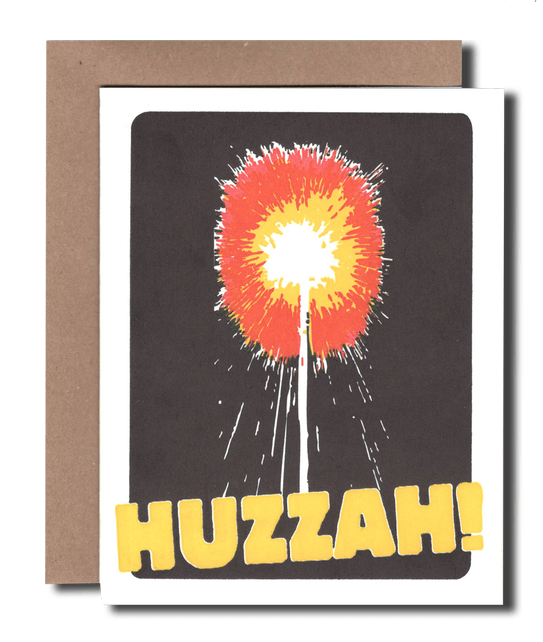 Huzzah! Greeting Card