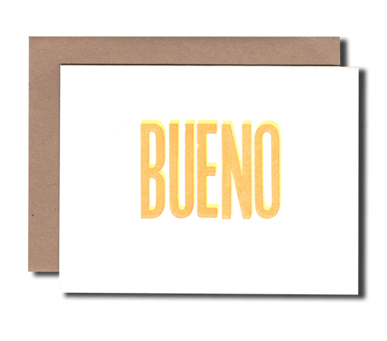 BUENO Greeting Card