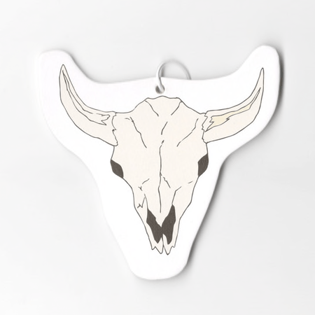 Bull steer Skull Air Freshener made in New Mexico