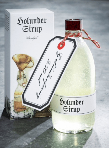 Elderflower Syrup Shower Gel TRADITION Skincare