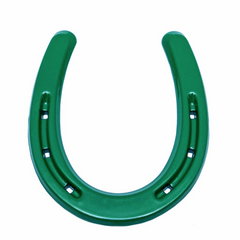 Lucky Green Horseshoe Western Decor