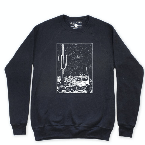 Desert Cruiser Black Sweatshirt
