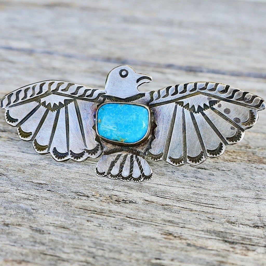 Large Fred Harvey Thunderbird Pin