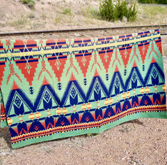 Camp Blanket Beacon Huron Pattern