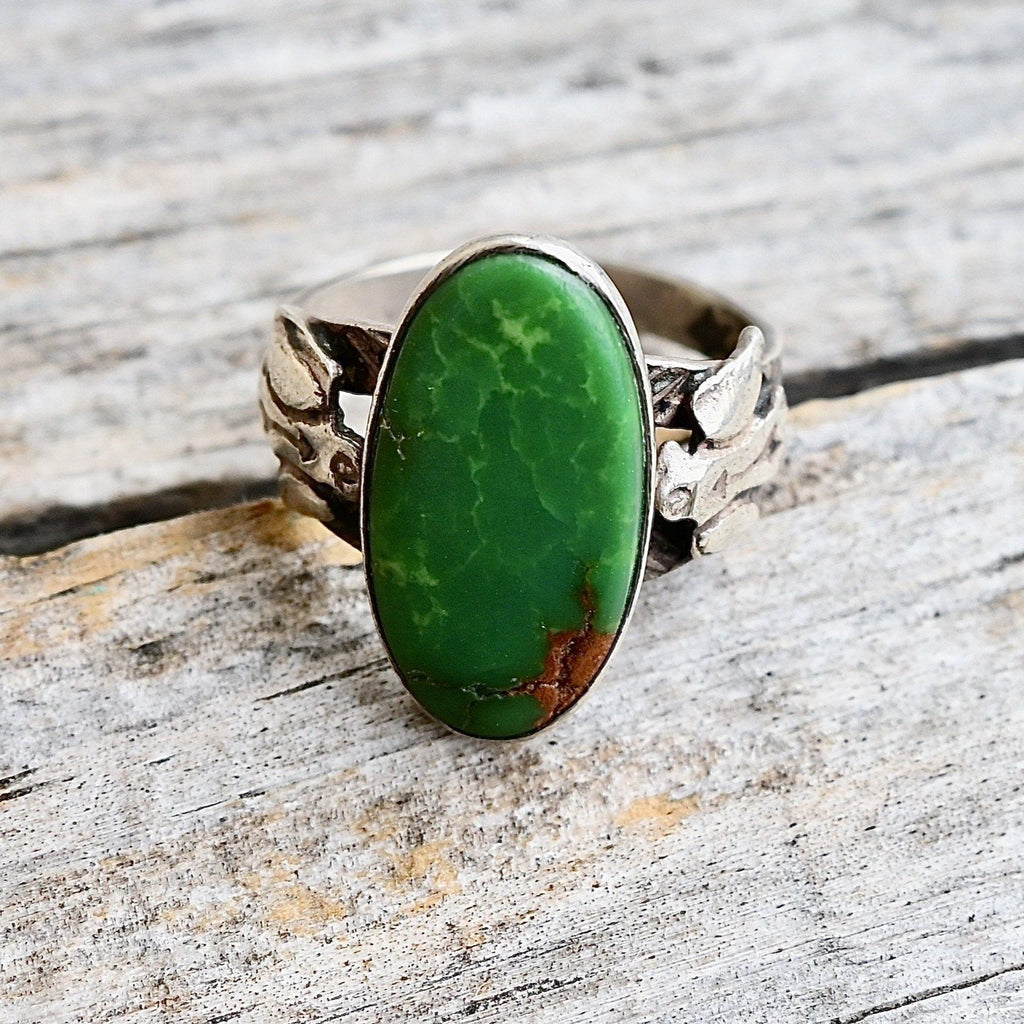 Women's Thunderbird & Turquoise Ring