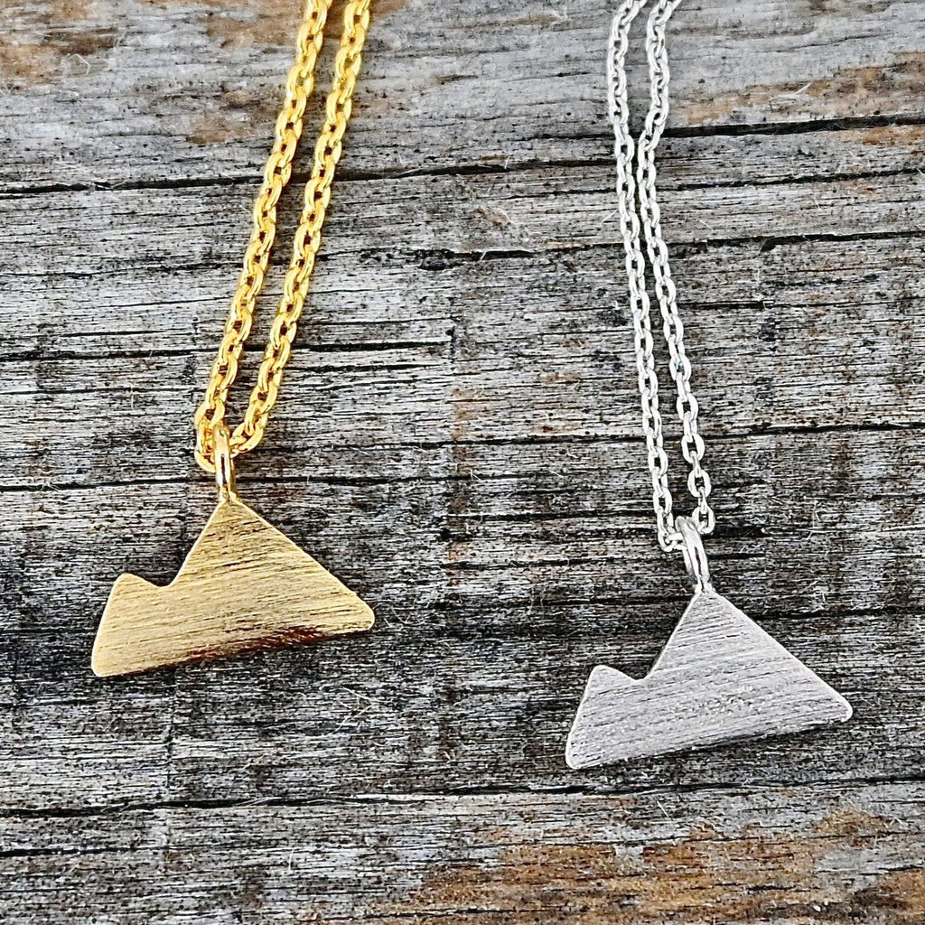 Taos Mountain Charm Necklace