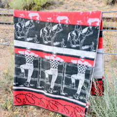Texas Ranch Camp Blanket
