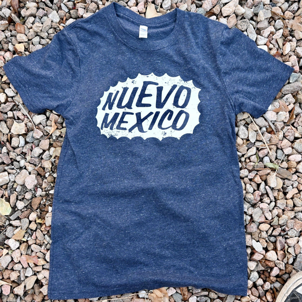 New Mexico Triblend T-Shirt Navy