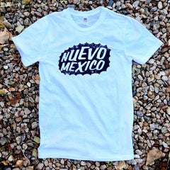 New Mexico Triblend White T-Shirt Unisex