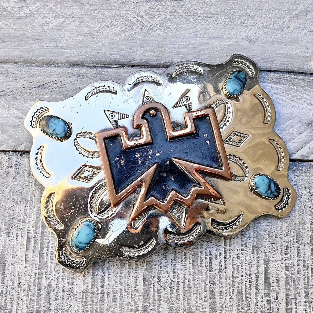 Bell Trading Post Belt Buckle