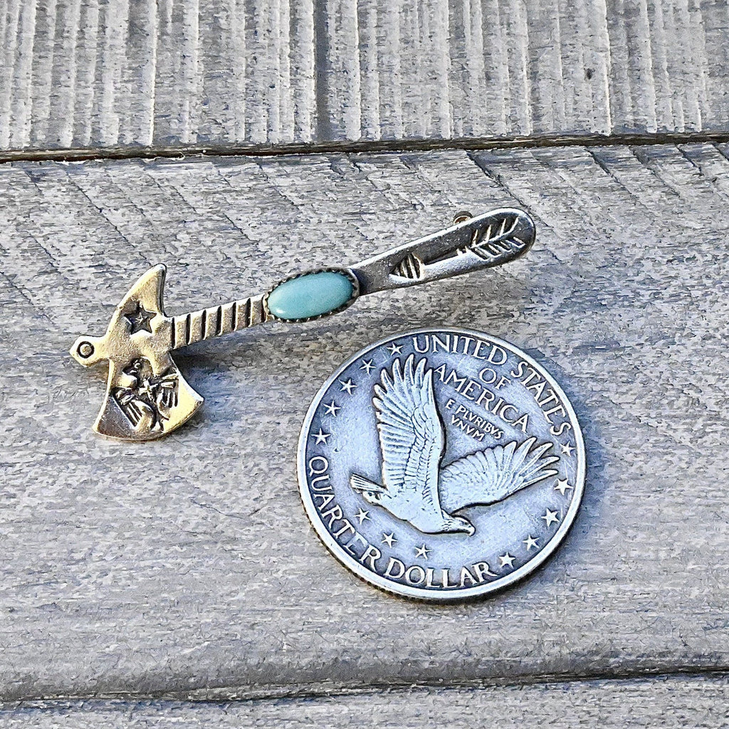 Old Bell Trading Post Tomahawk Pin
