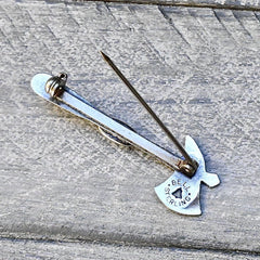 Bell New Mexico Tomahawk Pin