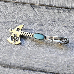 1950's Bell Trading Post Tomahawk Pin