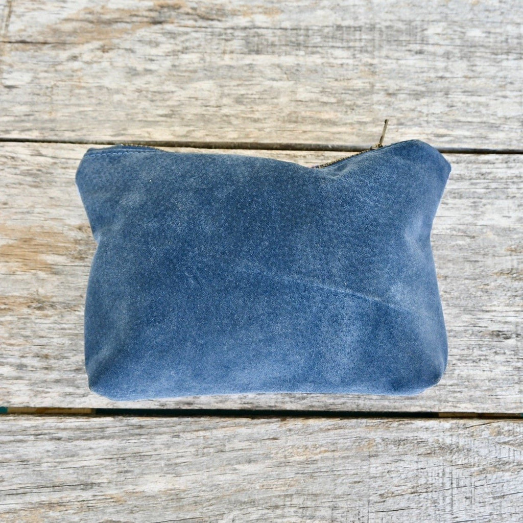 Pendleton Pouch Suede Backing