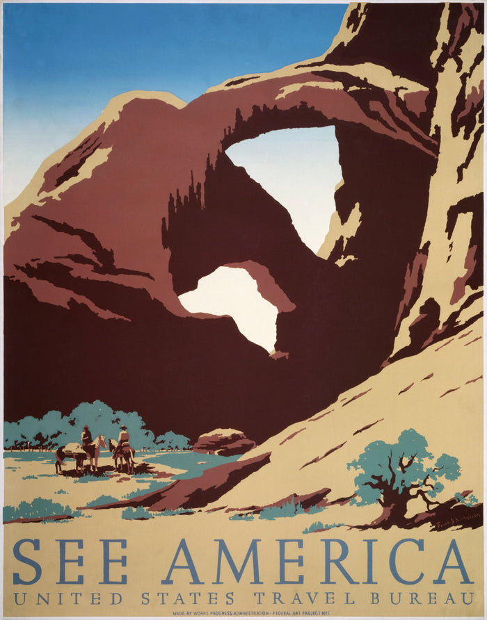 Southwest Travel Poster See America