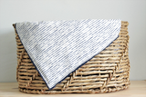 Baby Blanket - Blue Stripe