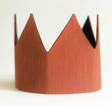 Dress-Up Playtime Fabric Crown - Bronze