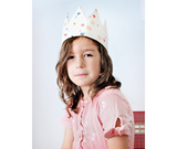 Dress-Up Playtime Fabric Crown - Circles