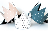 Dress-Up Playtime Fabric Crown - Wavy Lines
