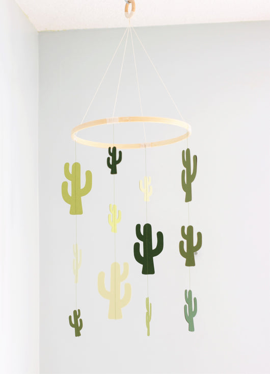 Mobile - Green Cactus