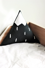 Mountain Pillow - Black and White