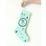 Mint Christmas stocking