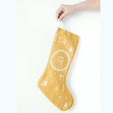 Christmas Stocking - Yellow