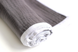 Cot Blanket - Grey Triple-Gauze