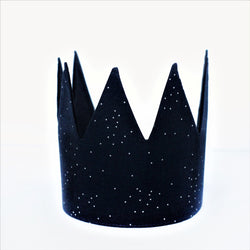 Fabric Crown - Dark Blue Constellation
